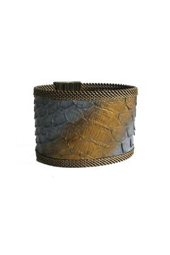 Shoptiques Product: Grey Snakeskin Cuff
