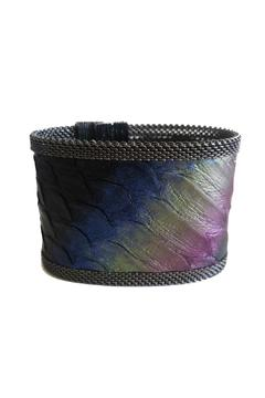 Shoptiques Product: Rainbow Snakeskin Cuff