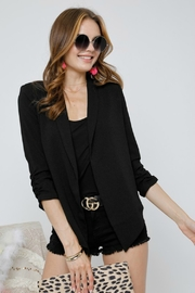 Adora Riverful  Draped Jacket - Product Mini Image