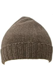 Riviera  Cashmere Knit Beanie - Front cropped