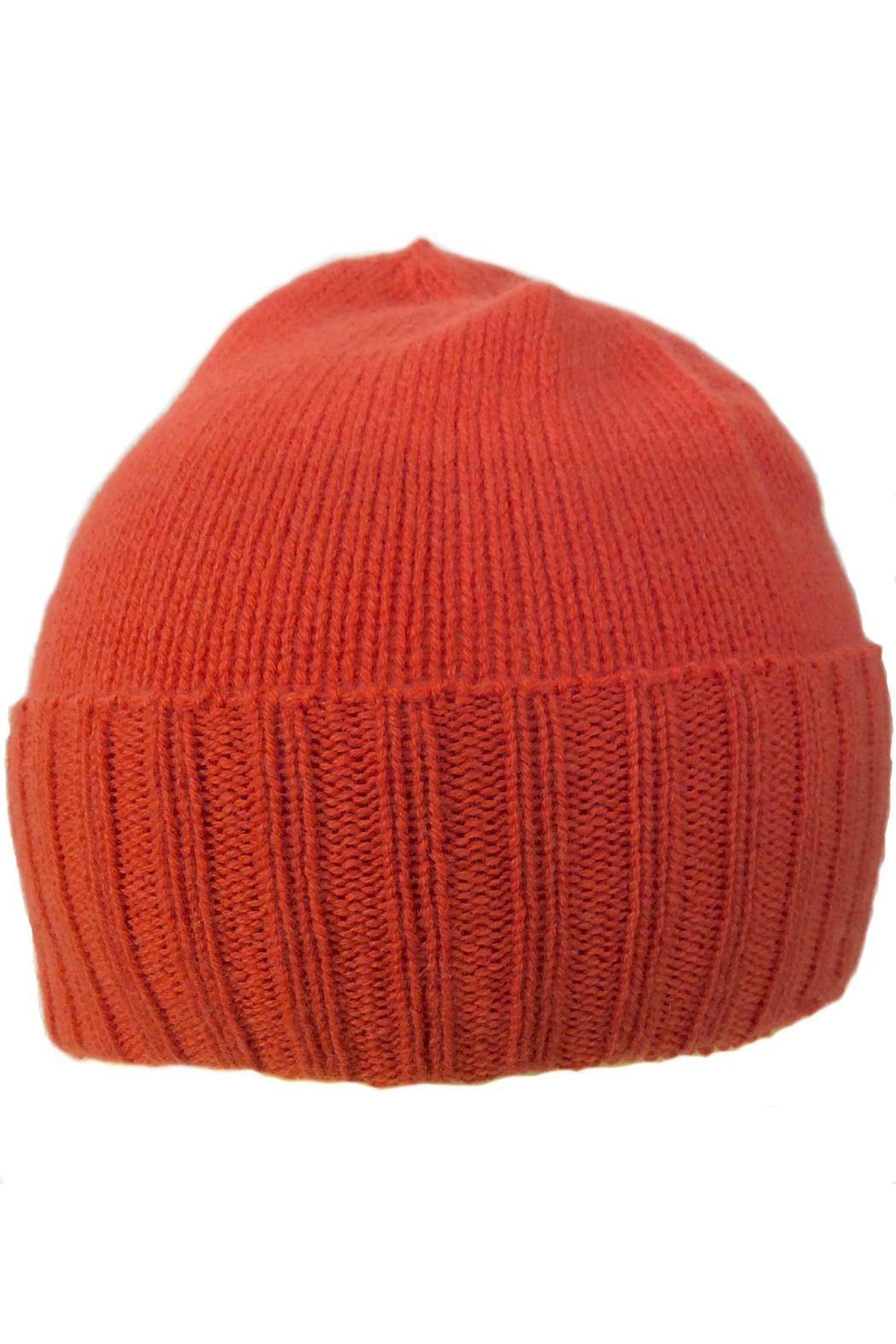 Riviera  Cashmere Knit Beanie - Front Cropped Image