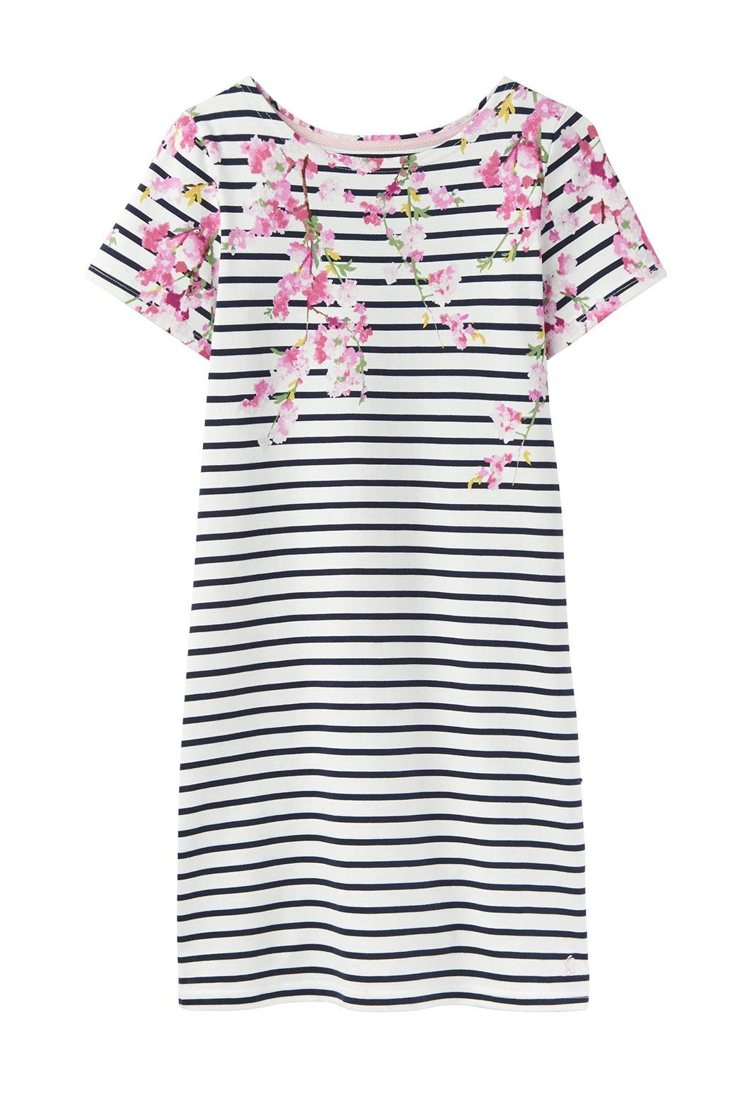Joules Riviera Print Dress - Side Cropped Image