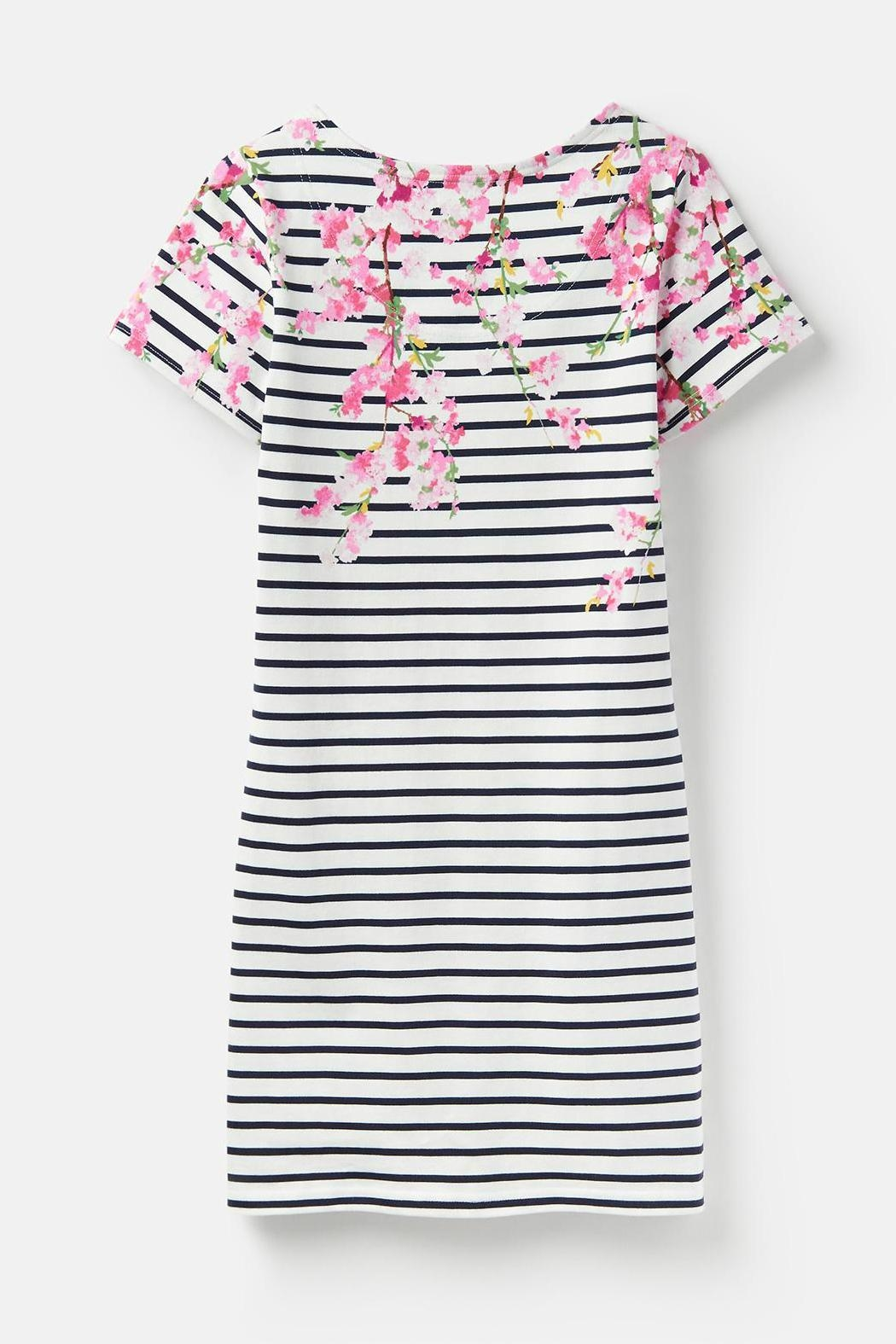 Joules Riviera Print Dress - Back Cropped Image