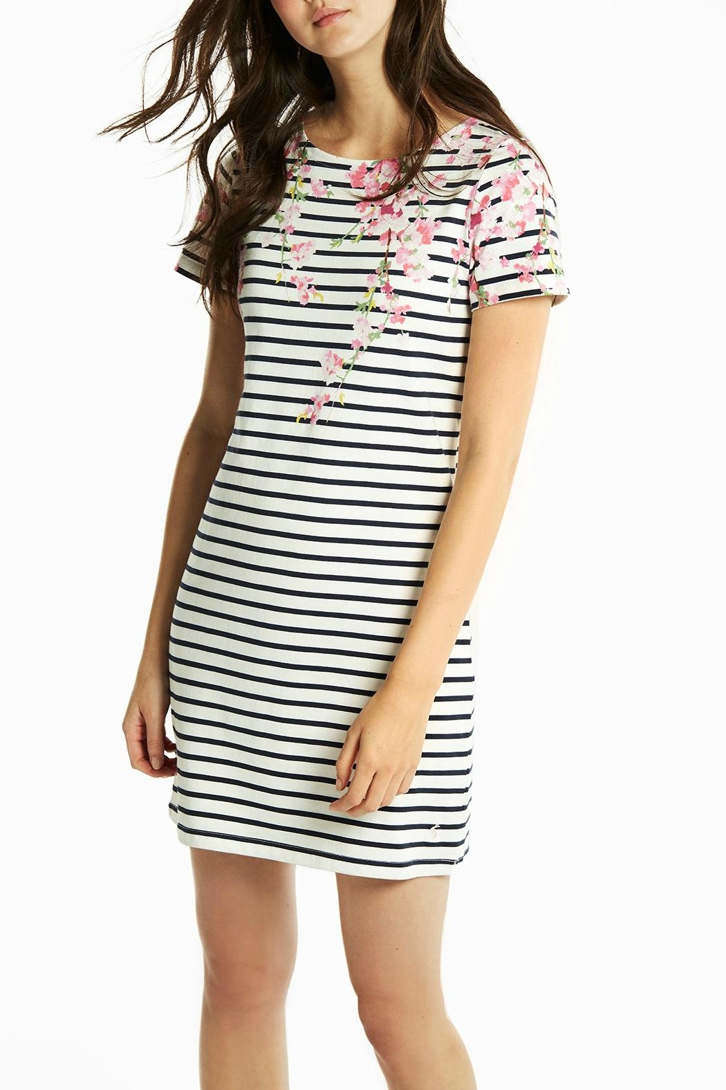 Joules Riviera Print Dress - Front Full Image