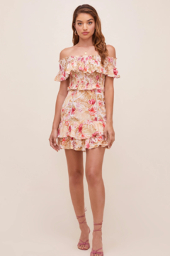 Aster Riviera Rose Dress - Product List Image