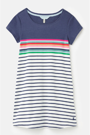 Joules RIVIERA SHORT SLEEVE DRESS - Product Mini Image