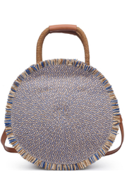 Urban Expressions Riviera Straw Circle Crossbody - Product Mini Image