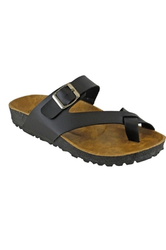 Shoptiques Product: Flatbed Buckle Sandal