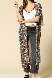 By Together Robbie Floral Kimono - Product Mini Image