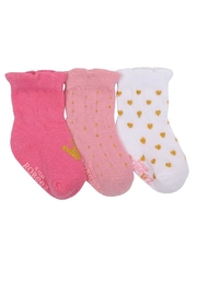 Robeez Girls Baby Socks - Product Mini Image