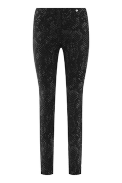 Robell Snake Vegan Suede Pants - Product List Image