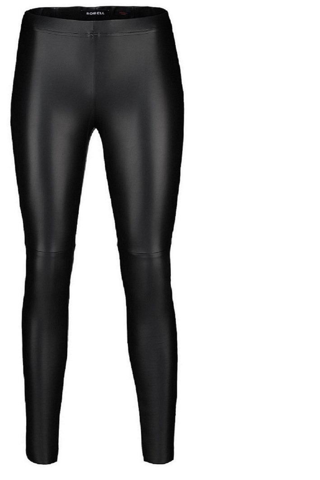 Robell Vegan Leather Pants - Front Cropped Image