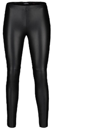 Robell Vegan Leather Pants - Front cropped