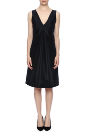 Robert Greco Couture Black Empire Dress - Front cropped