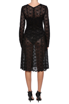 Robert Greco Couture Sheer Lace Dress - Alternate List Image