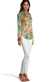 Robert Graham Swirl Print Blouse - Product Mini Image
