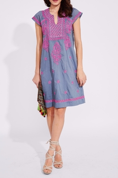 Shoptiques Product: Embroidered Faith Dress