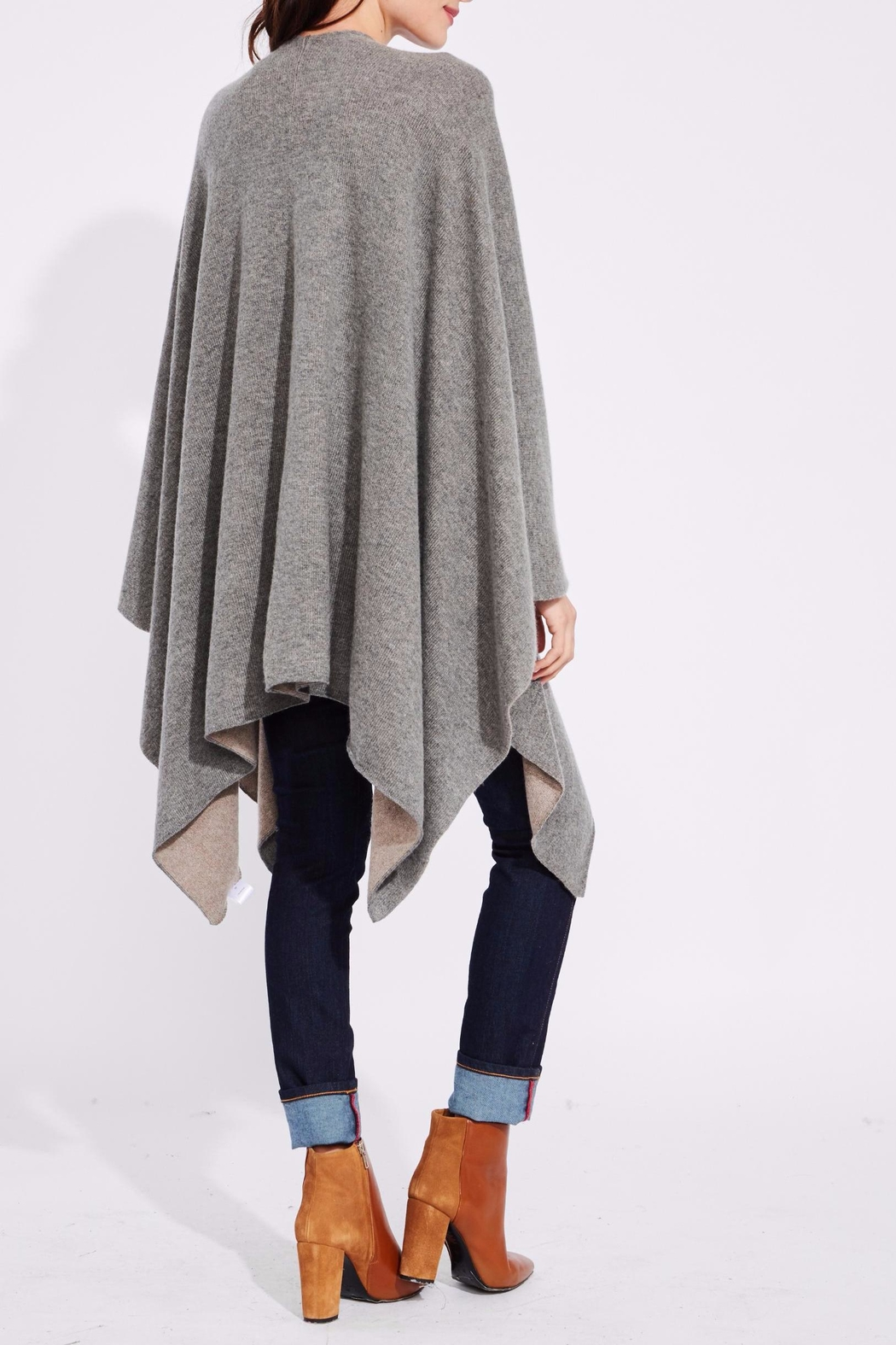 Roberta Roller Rabbit Doris Sweater Cape - Front Full Image