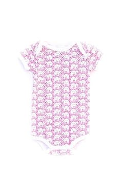 Roberta Roller Rabbit Elephant Baby Onesie - Alternate List Image