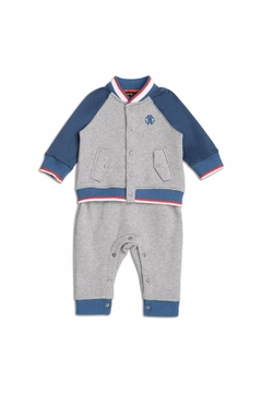 Shoptiques Product: Grey Baby Grow