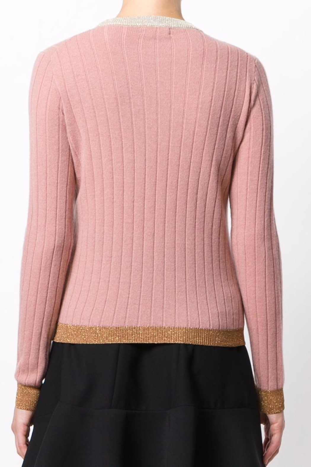 Roberto Collina Rose Ribbed Sweater - Front Full Image