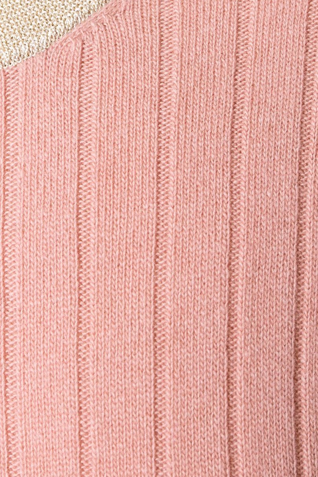 Roberto Collina Rose Ribbed Sweater - Side Cropped Image
