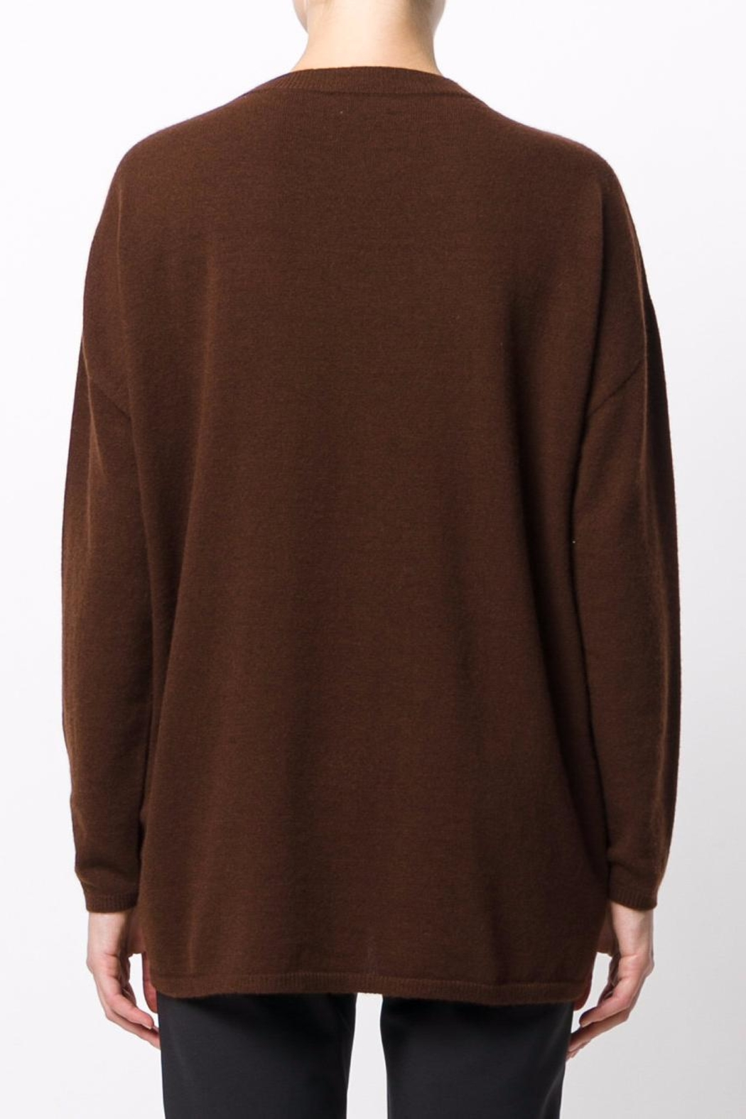 Roberto Collina Round Neck Sweater - Front Full Image