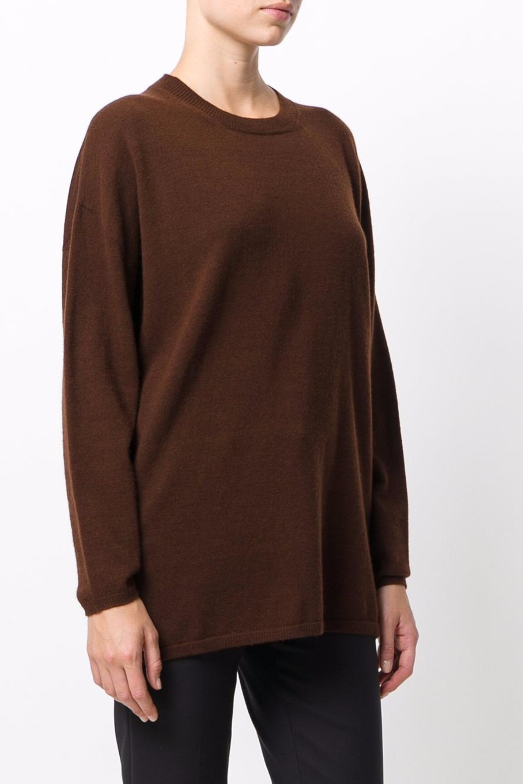 Roberto Collina Round Neck Sweater - Side Cropped Image