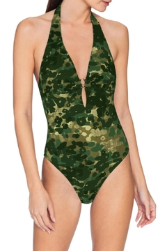 Robin Piccone  Eden Camo One-Piece - Product List Image