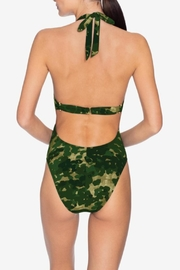 Robin Piccone  Eden Camo One-Piece - Front full body