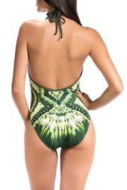 Shoptiques Product: Plunge Halter One Piece - Front full body