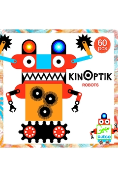 Shoptiques Product: Robots 60-Pieces Kinoptik