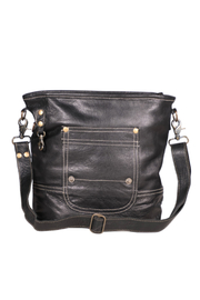 Myra Bags Robust Leather Bag - Product Mini Image