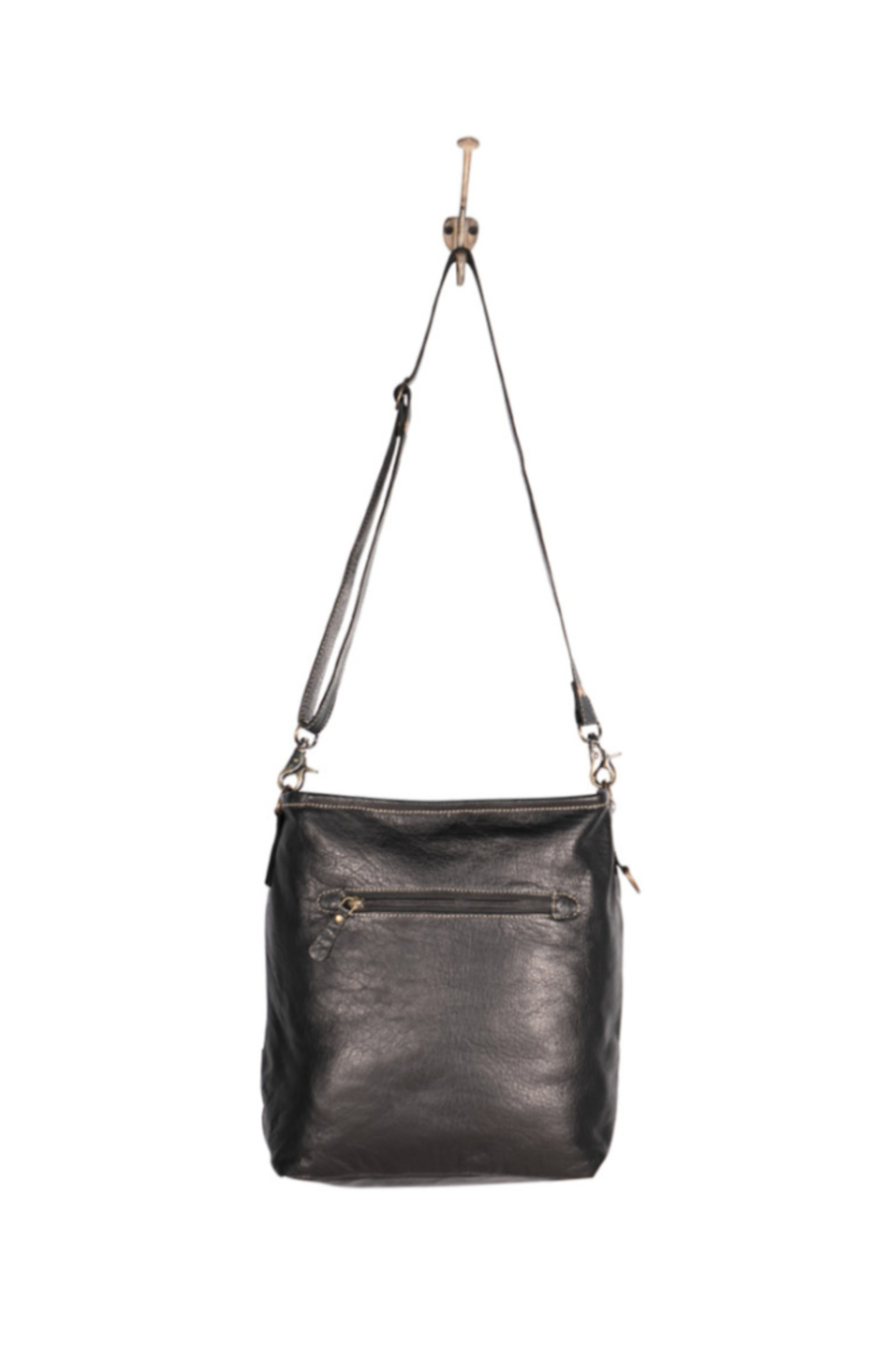 Myra Bags Robust Leather Bag - Front Full Image