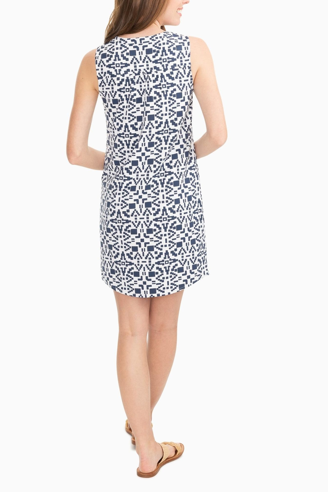 Southern Tide Robyn Performance Dress - Front Full Image