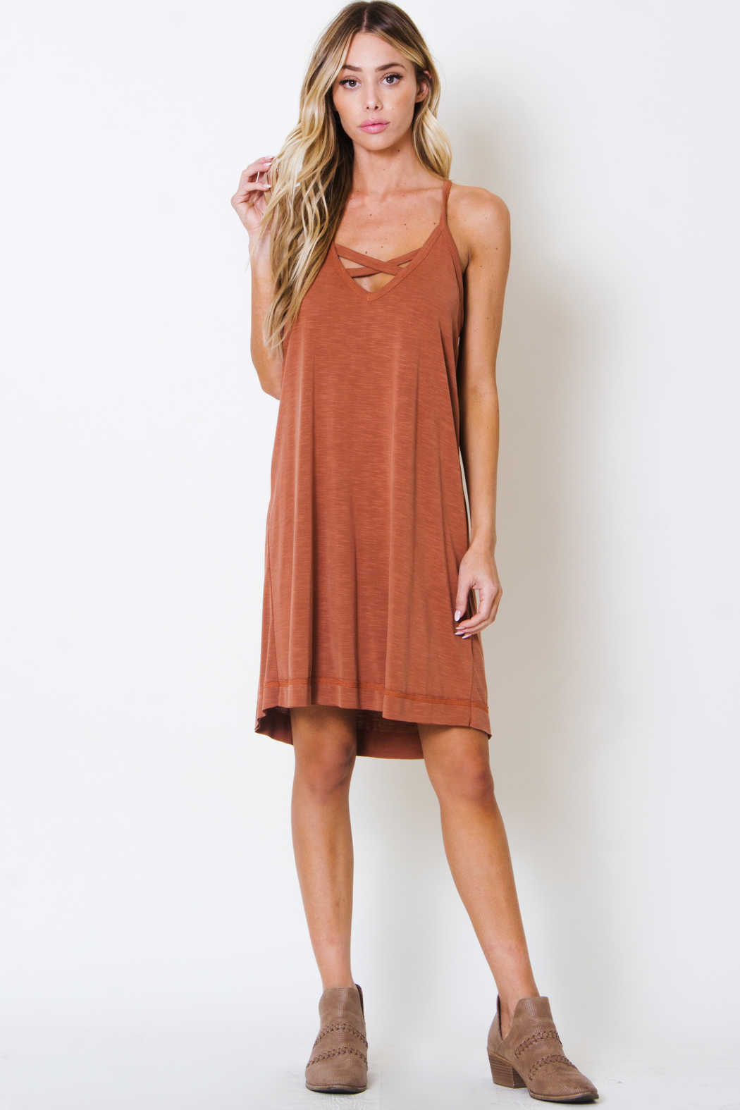 Wanderlux Rochester Dress - Front Cropped Image