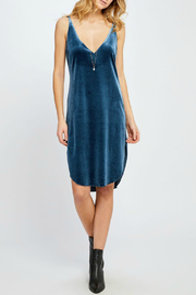 Gentle Fawn Rochette Velvet Tank Dress - Product Mini Image