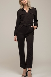 Moon River Rock Black Jumpsuit - Product Mini Image