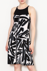 Rock N' Karma Studio Print Dress - Product Mini Image