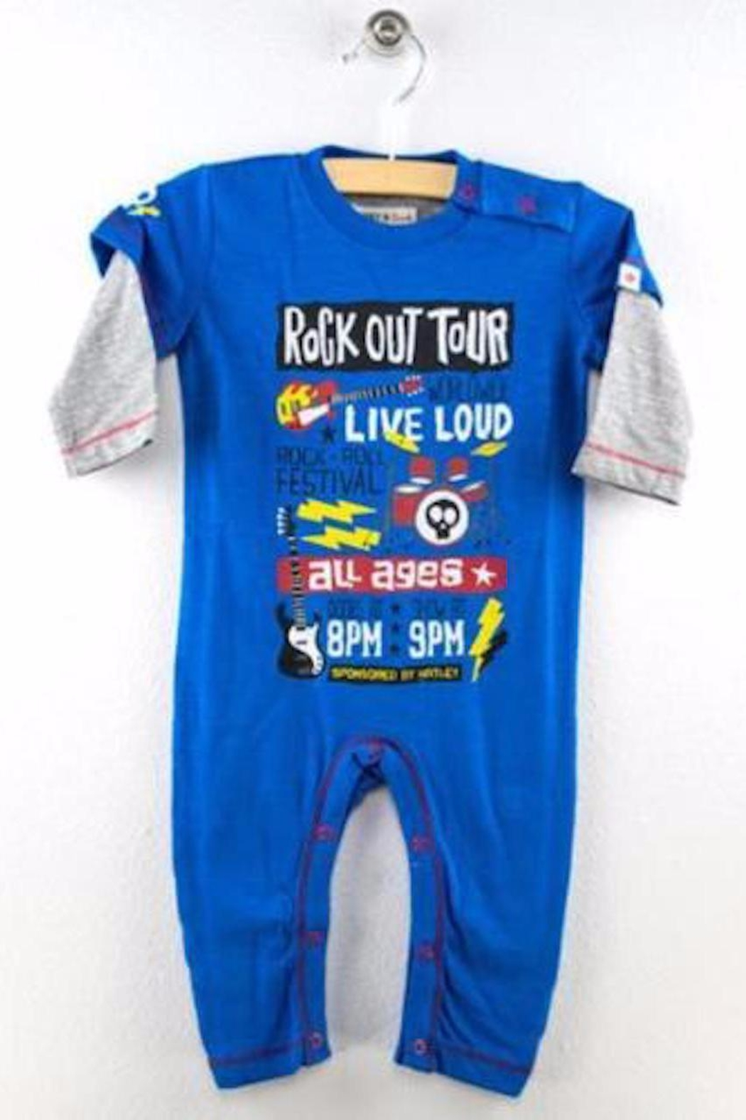 Hatley Rock Out Romper - Main Image