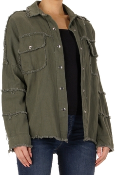 Shoptiques Product: Rock & Roll Military Jacket