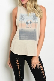 The Classic Rock & Roll Tank - Front cropped