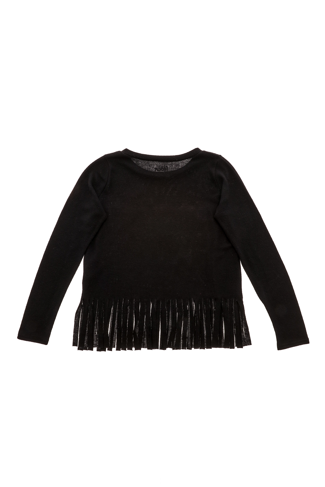 Rock Candy Rock N Roll Fringe Top - Back Cropped Image
