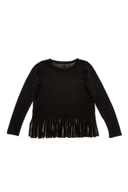 Rock Candy Rock N Roll Fringe Top - Back cropped