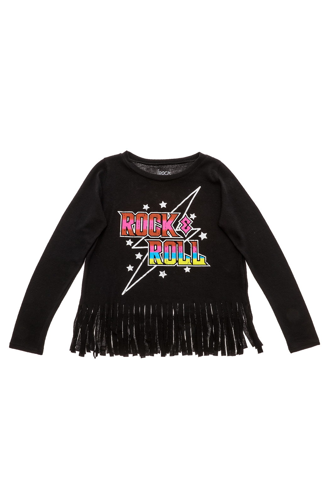 Rock Candy Rock N Roll Fringe Top - Main Image