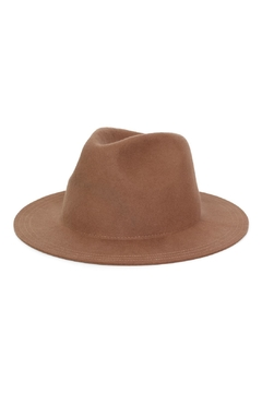 Rock Etiquette Beige Hipster Hat - Product List Image