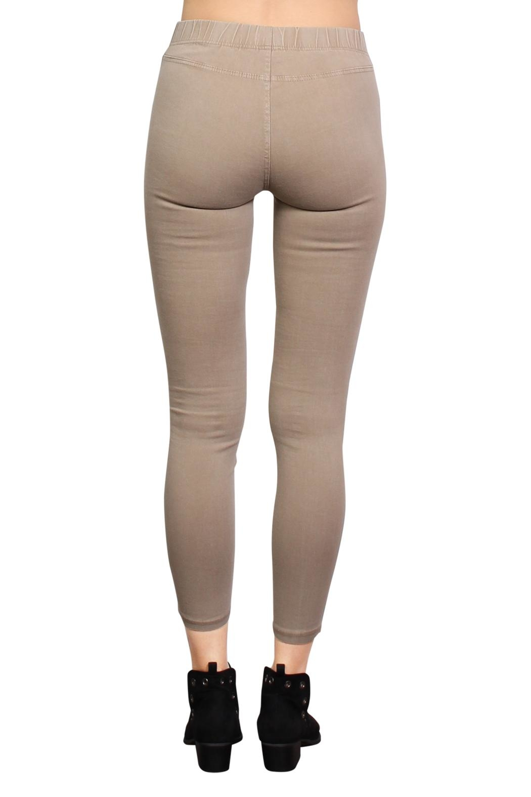 Rock Etiquette Best Seller Jeggings - Back Cropped Image