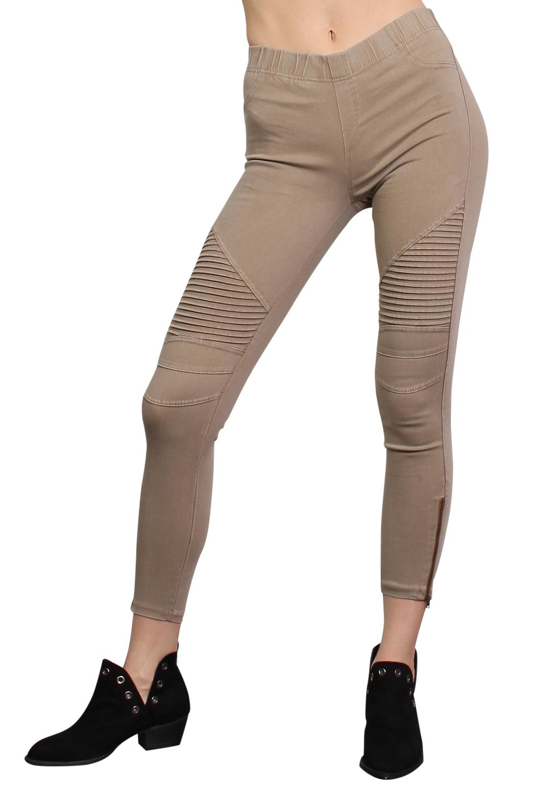 Rock Etiquette Best Seller Jeggings - Front Full Image