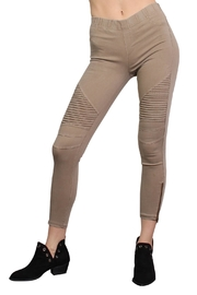 Rock Etiquette Best Seller Jeggings - Front full body
