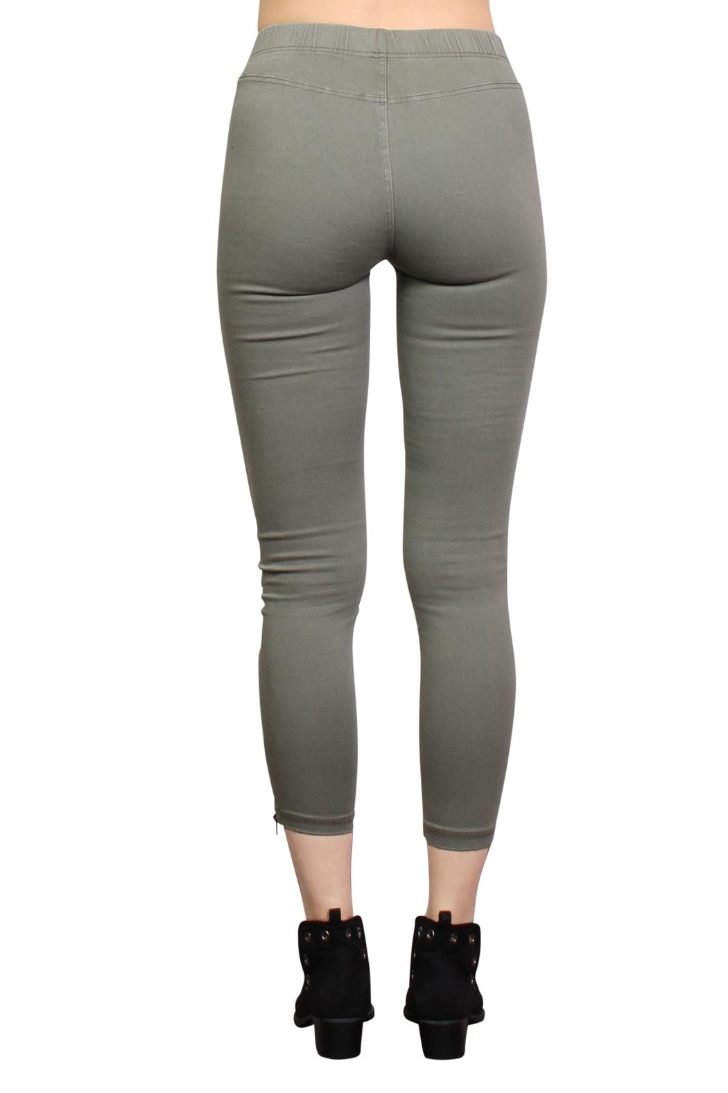 Rock Etiquette Best Seller Jeggings - Side Cropped Image